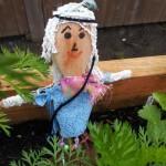 Hippy scarecrow