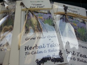 Time for Tea - seeds to grow your own herbal teas from Greenside Up
