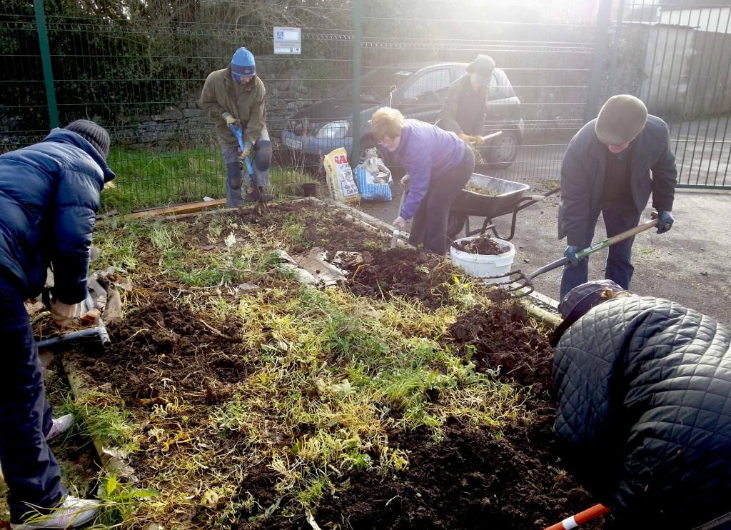 Autumn Prep at Callan Community Garden