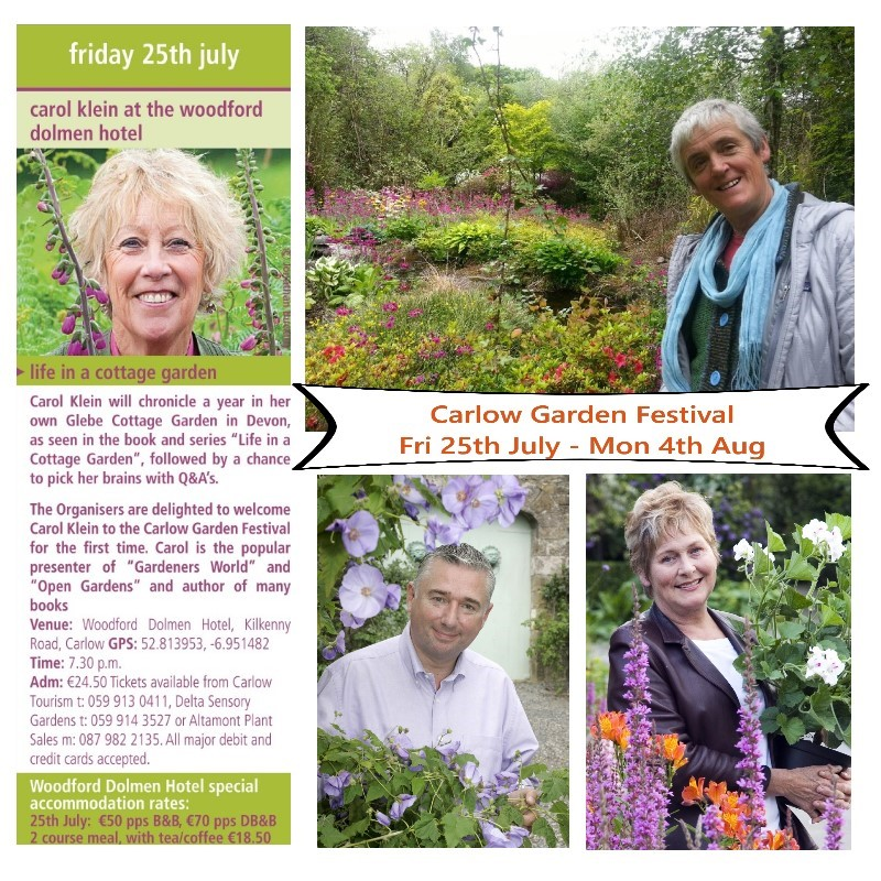 Carlow Garden Festival: What's On & Win Tickets, Trees & Tools