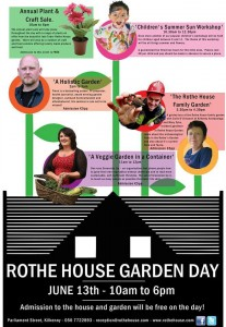 Garden Festivals Bloom in Ireland. Rothe House Garden Day in Kilkenny