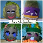 Gardening with Kids: Grow Your Own Grass Head