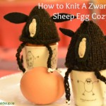 How to make a Zwartbles Sheep Egg Cozy