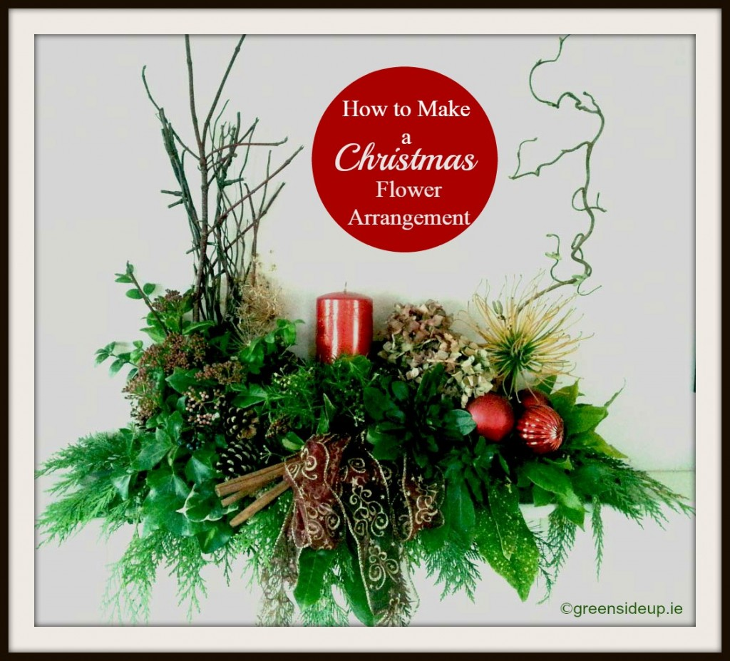 Ideas About Make Christmas Flower Arrangements Easy DIY Christmas Decorations