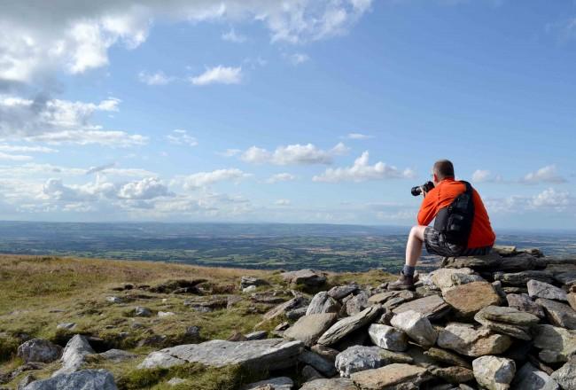 Ian locating Baunreagh