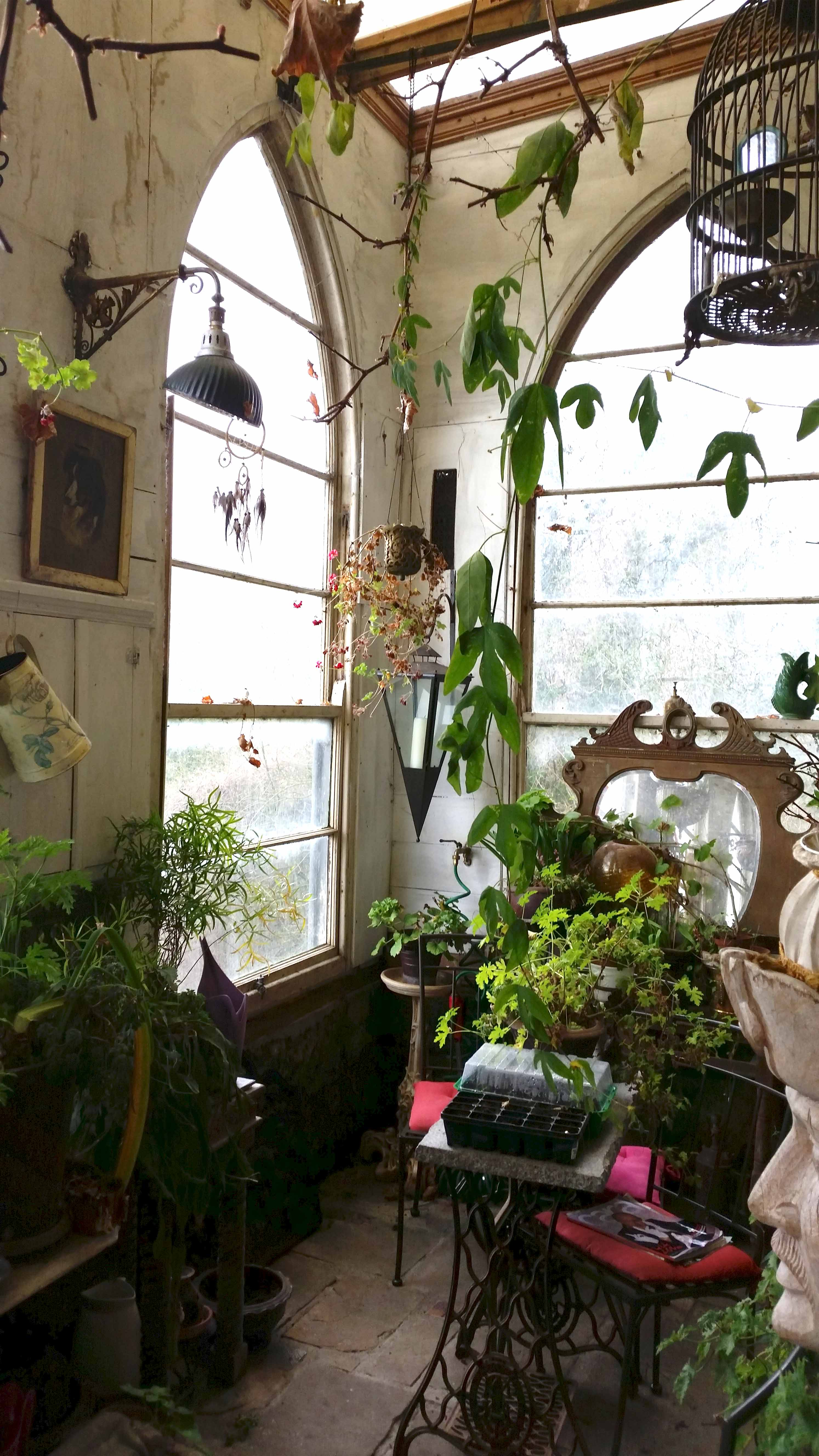 Leap Castle Conservatory In The Magical Midlands