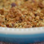 In Season Recipe: Easy and Healthy (ish) Plum Crumble