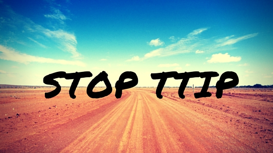 Stop TTIP - read why and become better informed here