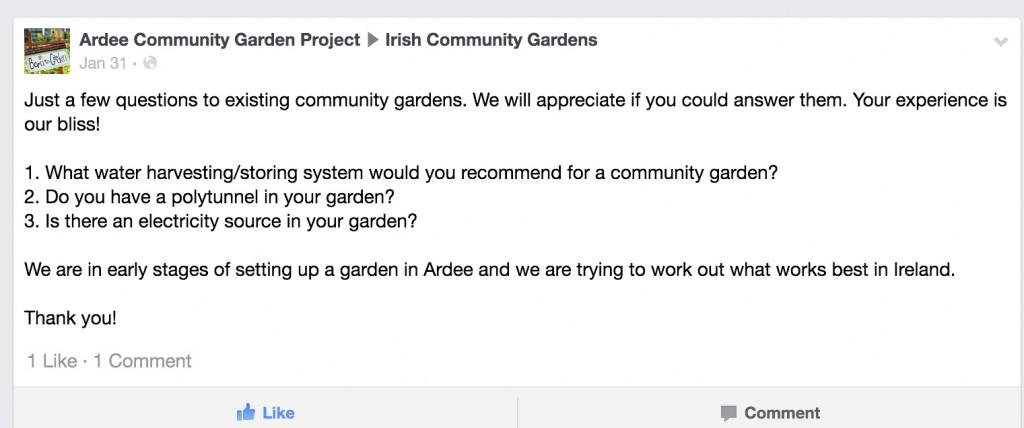 Start Up Essentials for a Community Garden