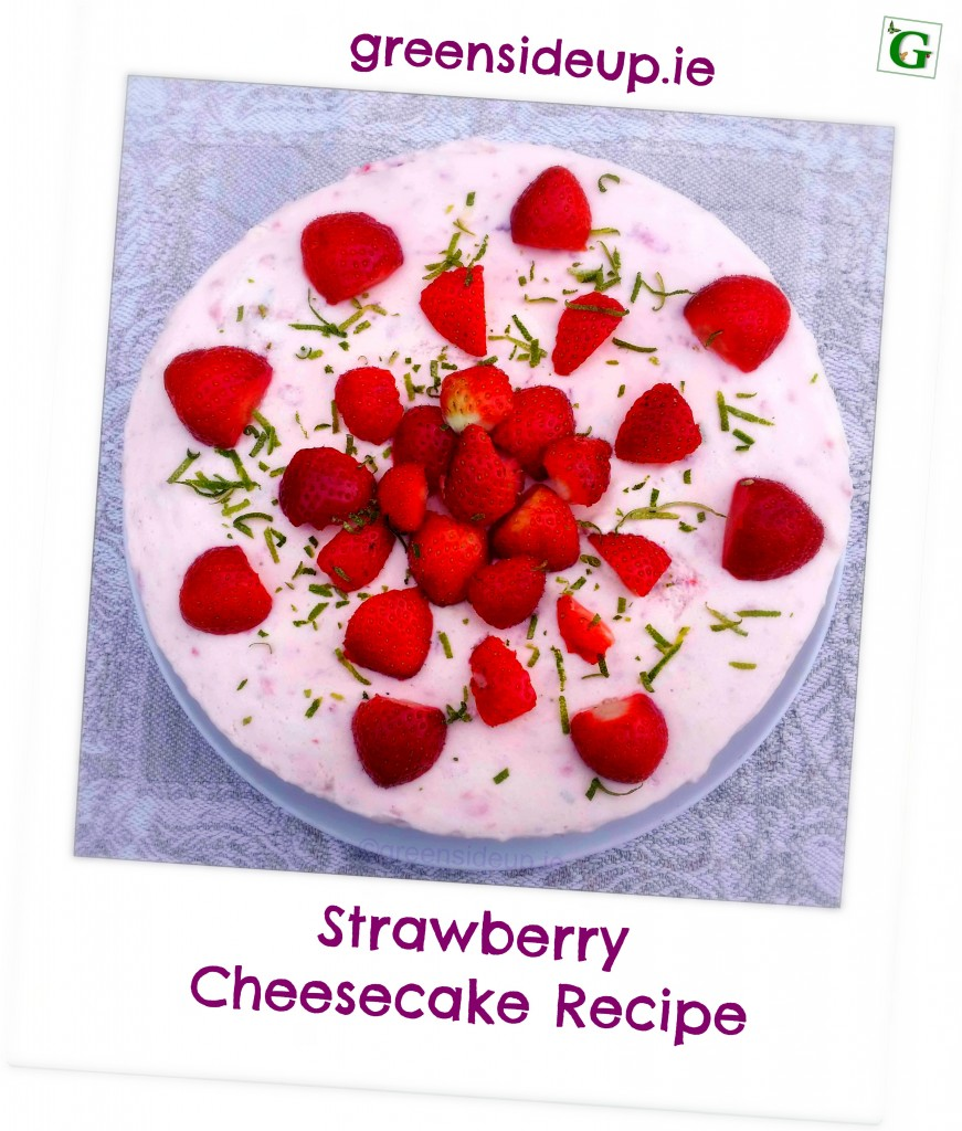 Strawberry Cheesecake Recipe  Greenside Up