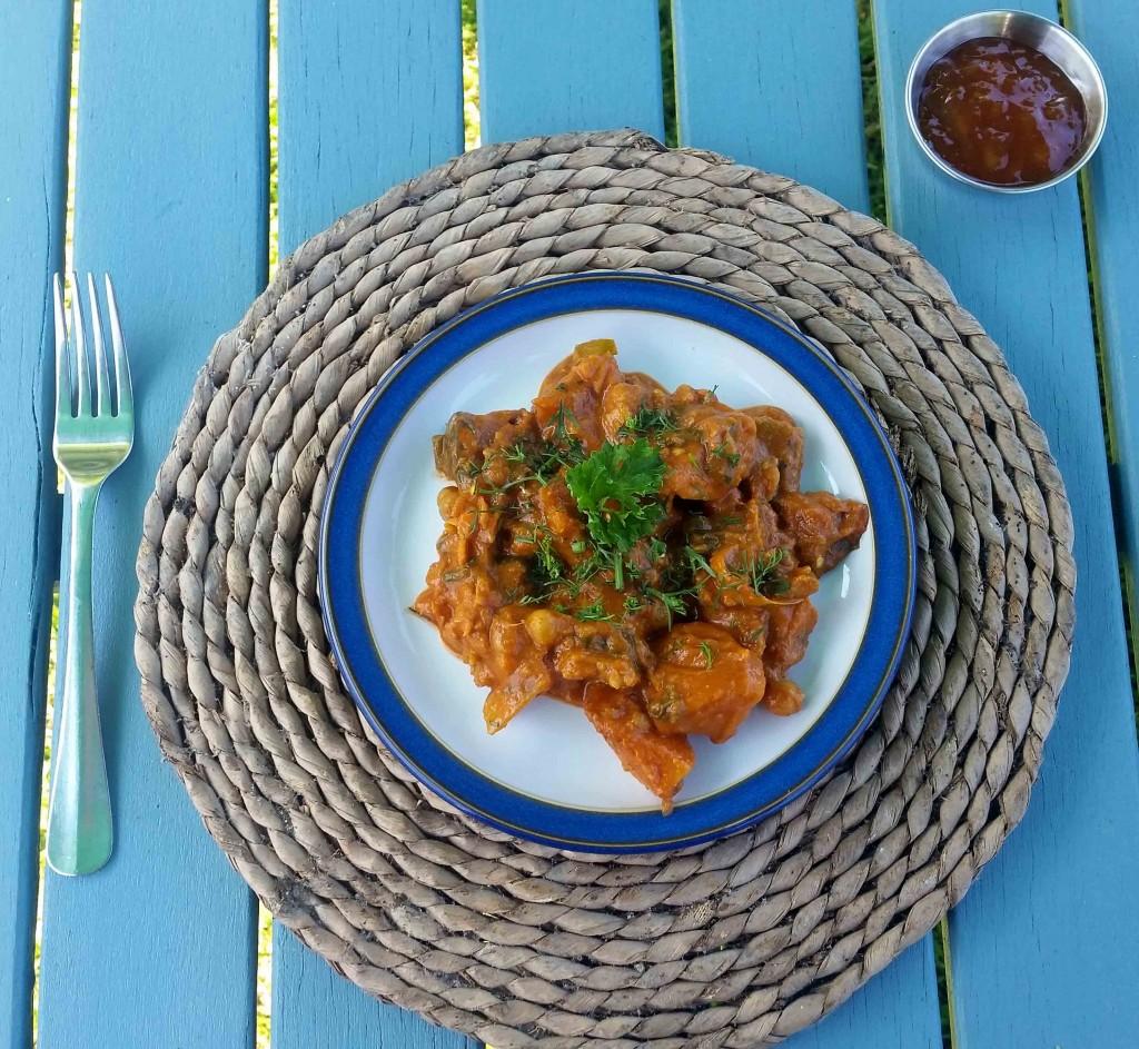 Sweet Potato, Spinach and Cauliflower Curry Recipe