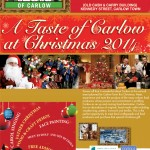 Taste of Carlow Christmas Details for 30th November 2014