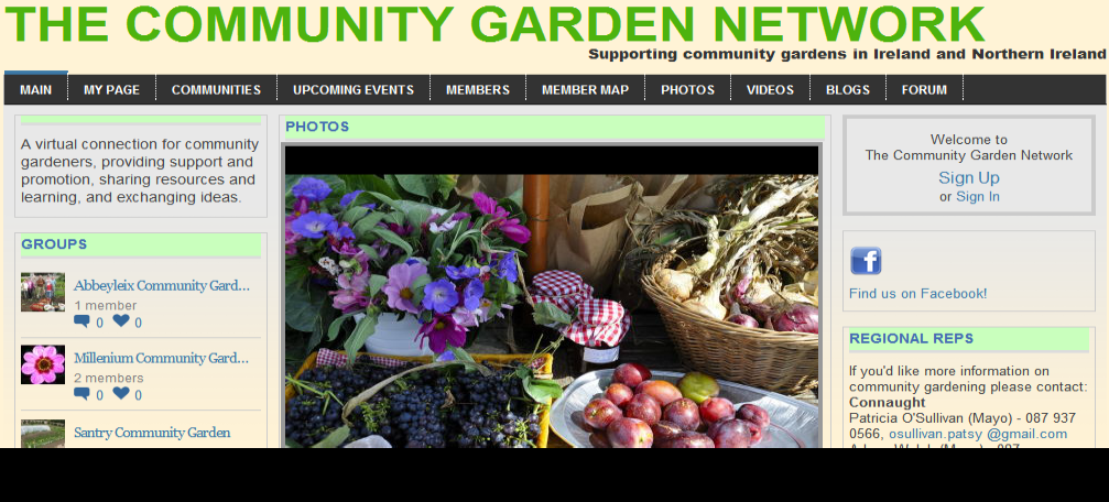 The Community Garden Network - Supporting community gardens in Ireland and Northern Ireland