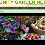 Community Gardening ~ Website goes live AND a model for us all