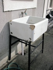 Upcycle a Belfast Sink to collect water