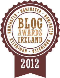 Irish Bog Awards 2012 Nomination Badge