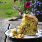 Courgette Cake with Lime Curd & Pistachio ~ Recipe