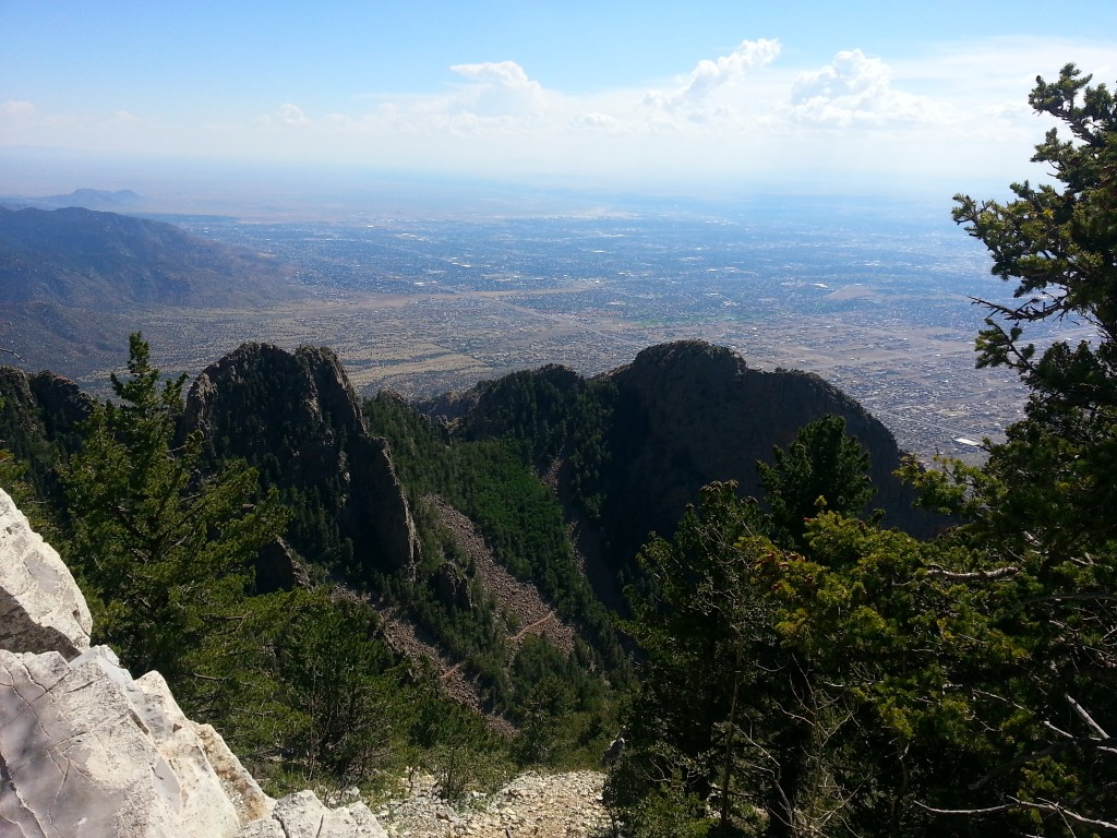 The View from Sandia Peak, New Mexico
