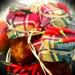 Green Tomato & Chilli Chutney Recipe