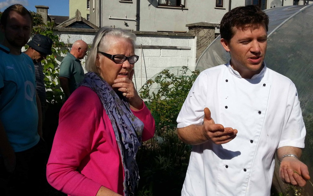 Talking veg with Alan Foley, Head Chef of the Step House Hotel