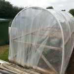 Fantastic cloche/mini polytunnel idea